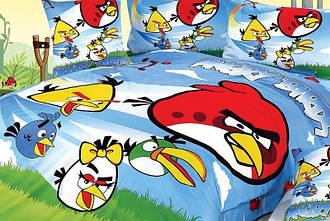 Детское постельное белье LOVE YOU CH-007 Angry Birds