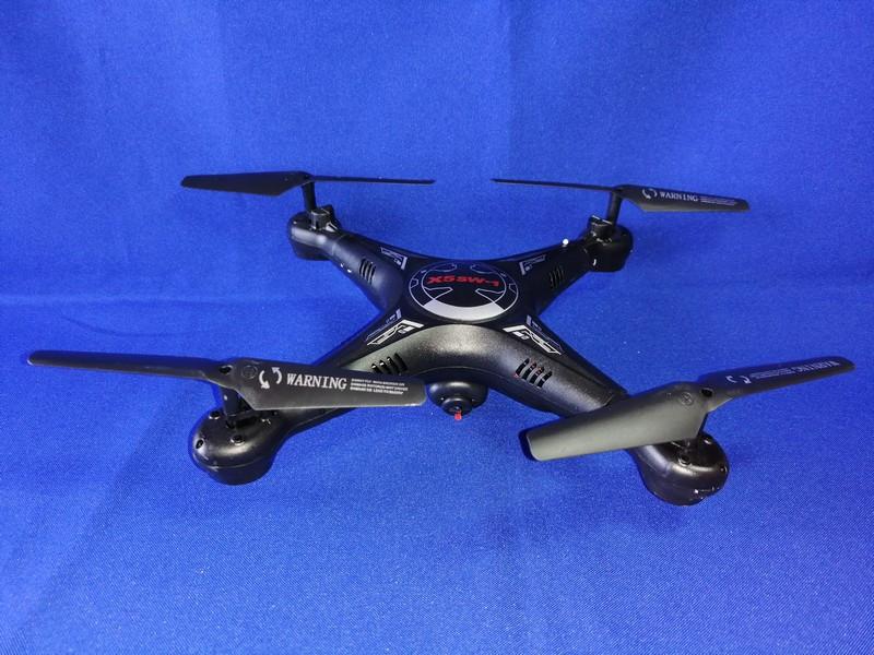 Квадрокоптер X5SW-1 с камерой Wi-Fi