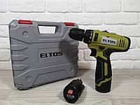 Шуруповерт аккумуляторный Eltos ДА-12 Li-Ion