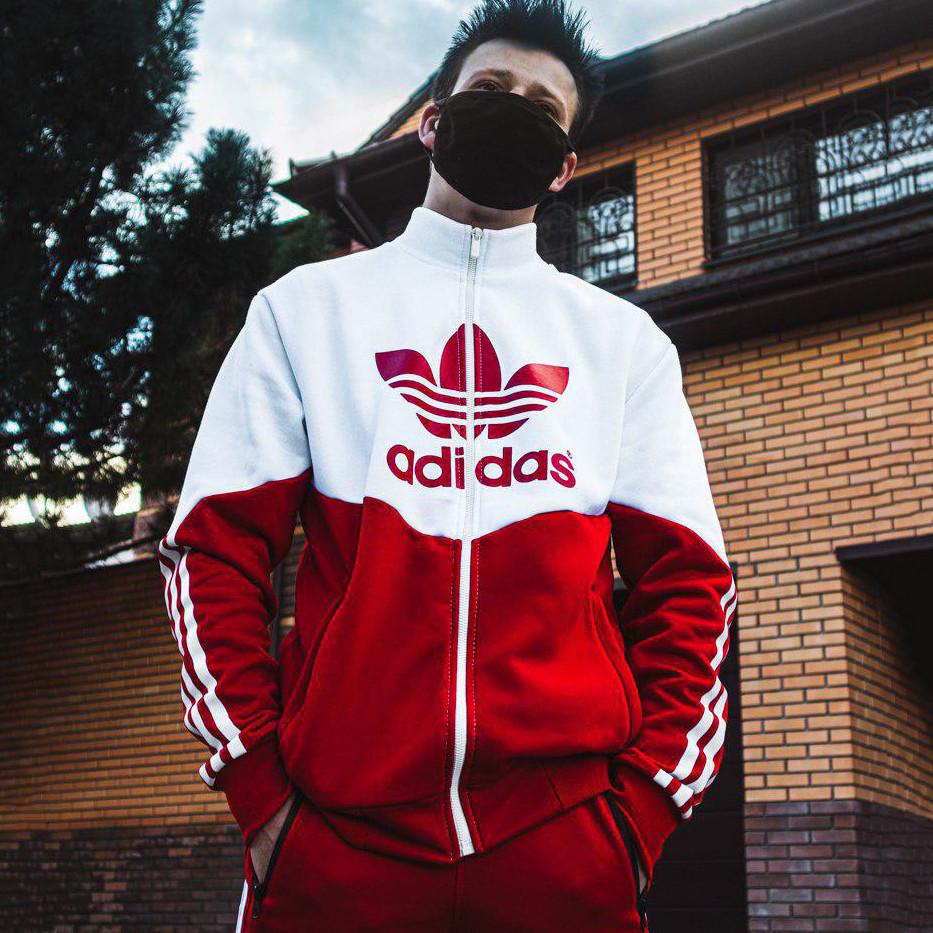 Теплый худи-зиппер Adidas Thrino