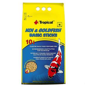 Корм для прудовых рыб Tropical Koi & Gold Basic ST. 10 л/800 г