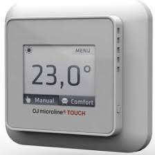 Программируемый терморегулятор OJ Electronics OCD5-1999-RUP3 для теплых полов - программатор