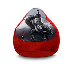 """Кресло мешок """"Ведьмак. Геральт из Ривии"""" Флок"""