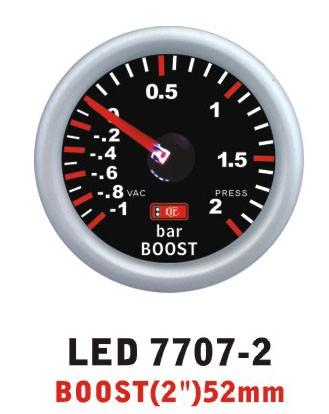 Давление турбины 7707 -2 LED стрелочный диам.52мм