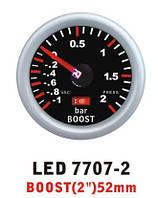 Давление турбины 7707 -2 LED стрелочный диам.52мм, фото 1