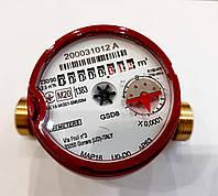 Водомер счетчик воды горячей BMeters GSD8 класс точности R100 ГВ 1/2, фото 1