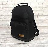 Стильный рюкзак Levi`s, левис, левайс. Повседневный, городской. Черный, фото 5