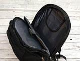 Вместительный рюкзак SwissGear Wenger, свисгир. Черный. 35L / s6612 black, фото 5