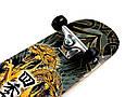 СкейтБорд деревянный Дракон + Шлем, фото 3