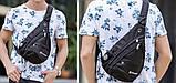 Сумка-рюкзак на одно плечо Swissgear Bag Wenger, свисгир.Слинг, sling. Черная, фото 7