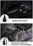 Сумка-рюкзак на одно плечо Swissgear Bag Wenger, свисгир.Слинг, sling. Черная, фото 9