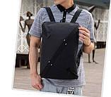 Стильный городской рюкзак NIID UNO, нид уно. Черный., фото 3