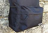 Спортивный, городской рюкзак рибок, Reebok. Черный. Стильный / R 1, фото 8