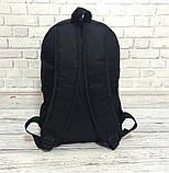 Спортивный, городской рюкзак рибок, Reebok. Черный. Стильный / R 1, фото 9