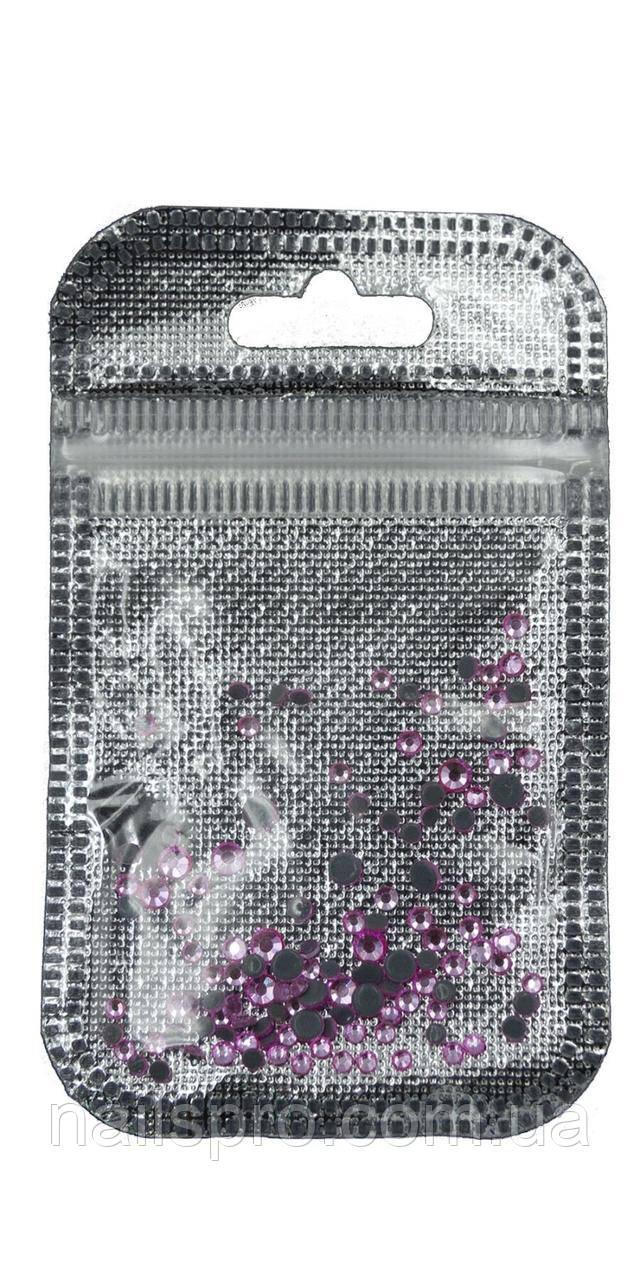 Стразы для декора ногтей Lilly Beaute №3834, розовые