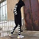 Спортивные штаны в стиле Off White полосы, фото 6