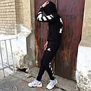 Спортивные штаны в стиле Off White полосы, фото 8