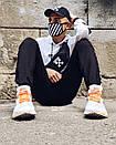 Худи унисекс в стиле Off White Cross белое, фото 3