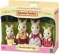 Семья Шоколадных кроликов Sylvanian Families