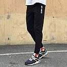Спортивные штаны в стиле Off White XX черные, фото 2