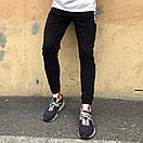 Спортивные штаны в стиле Off White XX черные, фото 3
