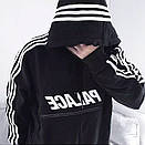 Теплое худи кенгуру Adidas x Palace, фото 2