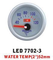 Температура воды 7702-3 LED (water temp) стрелочный диаметр 52мм., фото 1