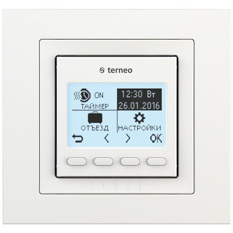 Программируемый терморегулятор  Terneo Pro (Unic) для теплых полов - программатор
