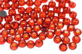 Стразы клеевые DMC, ss16(4mm).Цена за 1440шт, Цвет Огненно-красный