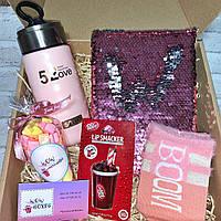 """Подарочный бокс для девочки WOW BOXES """"BOOM BOX"""""""