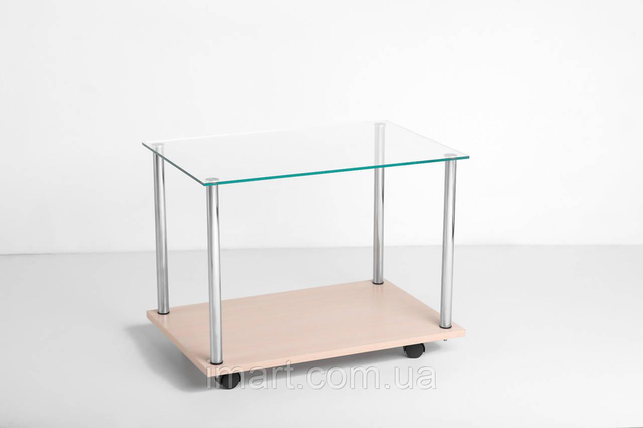 Журнальный стол Габриель стеклянный