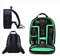 Рюкзак Xinquan для фотоаппарата, сумка для фотоаппарата зеркального Green, фото 1