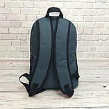Качественный Рюкзак, портфель с накаткой FILA, фила. Серый / F03, фото 7