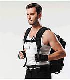 Тактический, походный, военный рюкзак Military. 25 L. Черный.  / T410, фото 3
