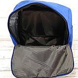 Комплект рюкзак + органайзер, сумка Fjallraven Kanken Classic, канкен класик. Синий (электрик), фото 6