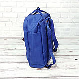 Комплект рюкзак + органайзер, сумка Fjallraven Kanken Classic, канкен класик. Синий (электрик), фото 8