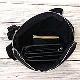 Стильная сумка через плечо, барсетка Calvin Klein, CK кельвин. Черная, фото 2