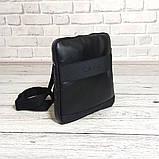 Стильная сумка через плечо, барсетка Calvin Klein, CK кельвин. Черная, фото 4