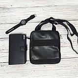 Стильная сумка через плечо, барсетка Calvin Klein, CK кельвин. Черная, фото 5