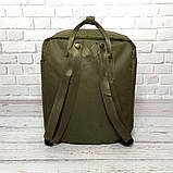 Комплект рюкзак, сумка + органайзер Fjallraven Kanken Classic, канкен класик. Хаки, haki, фото 5