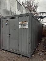 Бытовка 6м на металлическом каркасе Б/У в Киеве А/Х 400718-6