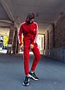 Олимпийка мужская в стиле Adidas Round красная, фото 2