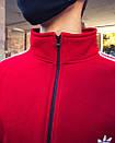Олимпийка мужская в стиле Adidas Round красная, фото 7