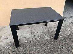 Cтол обеденный со столешней из каменной крошки   Marlow (Марлоу) DF505-2T  Evrodim, Stone8/Black