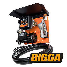 Bigga Gamma AC-70 – стационарная мини колонка для заправки техники топливом. Питания 220 В.  Расход 70 л/мин