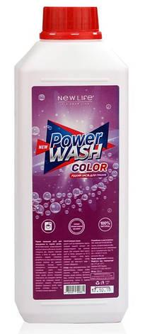 Жидкое стиральное средство «Новая жизнь» для цветных и черных вещей, фото 2