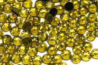 Стразы клеевые DMC, ss16(4mm).Цена за 1440шт, Цвет Желтый(138)