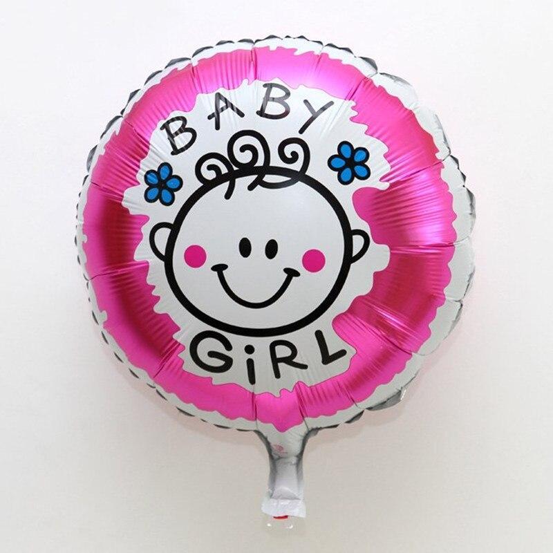 Кулька фольгований Baby Girl діаметр 45 см 1623