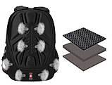 Вместительный рюкзак SwissGear, свисгир. Черный с синим. 35L / 7697 blue, фото 5