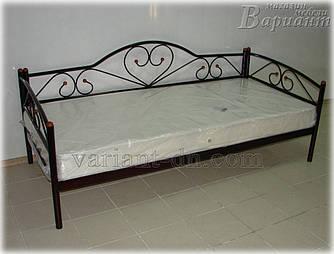 Кровать металлическая Ева люкс